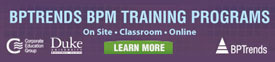 BPTrends BPM Training Programs