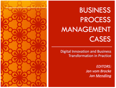 Fig. 1: BPM Cases. Digital Innovation and Business Transformation in Practice
