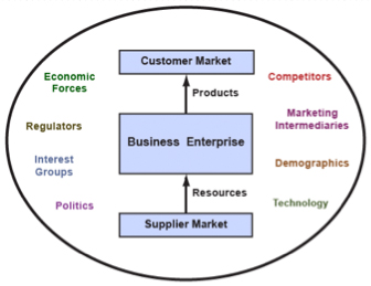 Figure 1:  Business Enterprise